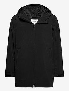 Haul Jacket - regnkläder - black
