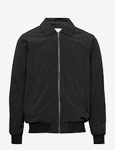 Mark Jacket - bomber-takit - black