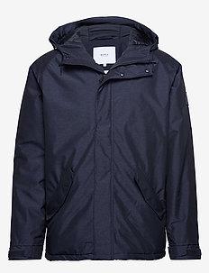Polar Jacket - parki - navy mel