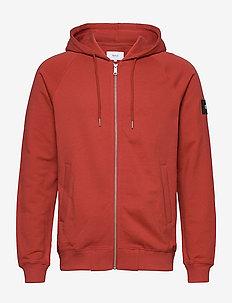 Branch Hooded Sweatshirt - RED