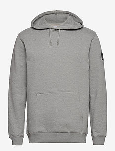 Symbol Hooded Sweatshirt - basic sweatshirts - grey