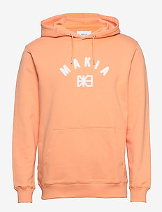 Brand Hooded Sweatshirt - hettegensere - peach