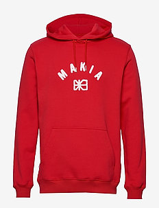 Brand Hooded Sweatshirt - RED