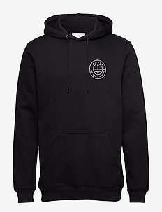 Range Hoooded Sweatshirt - BLACK