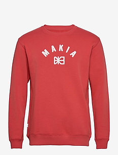 Brand Sweatshirt - sweatshirts - red