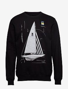 Genoa Sweatshirt - BLACK
