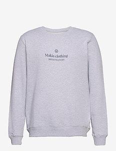 Horizon Sweatshirt - sweatshirts - light grey
