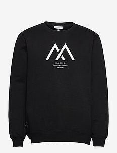 Seafarer Light Sweatshirt - sweats - black