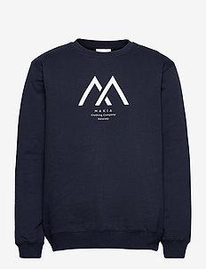 Seafarer Light Sweatshirt - sweats - dark blue
