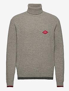 Normark Knit - rollkragen - grey