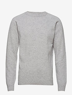KLOVHARU KNIT - LIGHT GREY