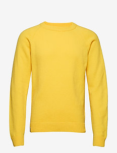 KLOVHARU KNIT - YELLOW