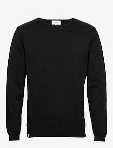 Lyon Knit - podstawowa odzież z dzianiny - black