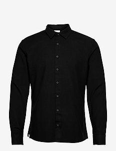 Svart Shirt - geruite overhemden - black