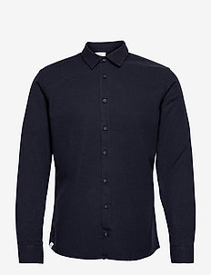 Svart Shirt - geruite overhemden - dark navy