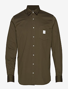 Square Pocket Shirt - GREEN