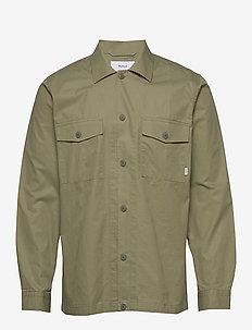 Convoy Overshirt - basic shirts - olive