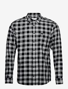 Area Shirt - casual-paidat - black-white