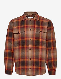 Country Overshirt - yläosat - copper
