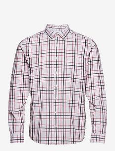 Grove Shirt - geruite overhemden - white