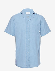 BARQUE SS SHIRT - LIGHT BLUE