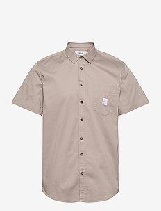 Square Pocket SS Shirt - basic overhemden - khaki