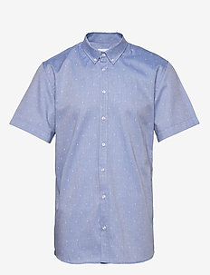 ANCHORS SS SHIRT - BLUE