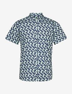 Arbor SS Shirt - kortermede skjorter - mint