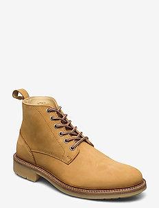 Avenue Boot - nauhalliset - ochre