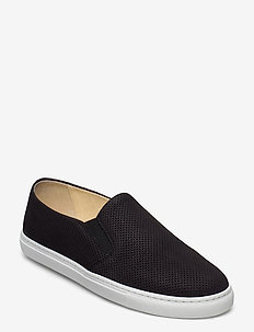 BOARDWALK - baskets slip-ons - black