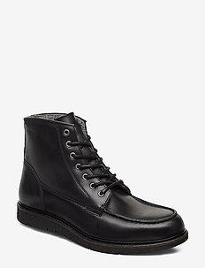Noux Boot - bottes lacées - black