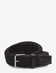 SPAN BELT - braided belts - black