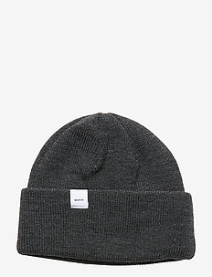 Merino Thin Cap - beanies - dark grey