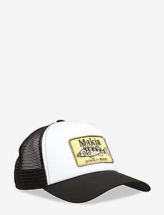 Abbore Trucker Cap - BLACK-WHITE