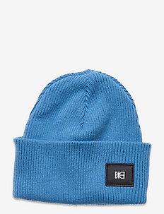 Flag Beanie - bonnets - french blue