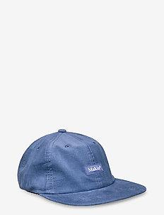 Corduroy Cap - kappen - blue