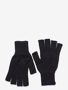 Wool Fingerless Gloves - nowości - black
