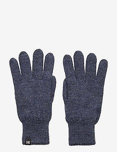 FLAG WOOL GLOVES - BLUE