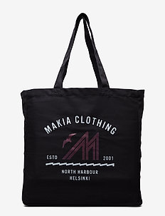 Station Day Tote Bag - BLACK
