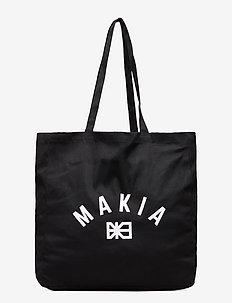 Brand Day Tote Bag - casual shoppers - black