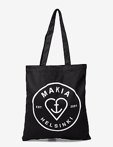 Knot Tote Bag - shoppers  - black