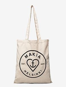 Knot Tote Bag - shoppers  - ecru