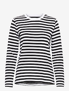 Verkstad Long Sleeve - hauts à manches longues - black-white
