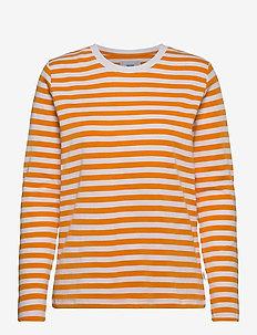 Verkstad Long Sleeve - long-sleeved tops - warm yellow