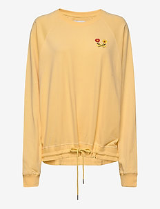 Fara Long Sleeve - sweatshirts - yellow