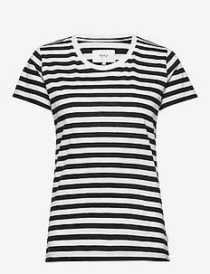 Verkstad T-Shirt - t-shirts - black-white
