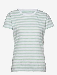 Verkstad T-Shirt - t-shirts - mint-white