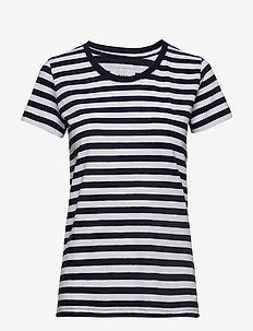 Verkstad T-Shirt - NAVY-WHITE