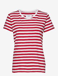 Verkstad T-Shirt - t-shirts - red-white