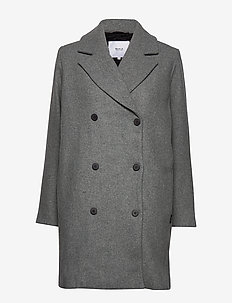 Usva Coat - ullkappor - light grey